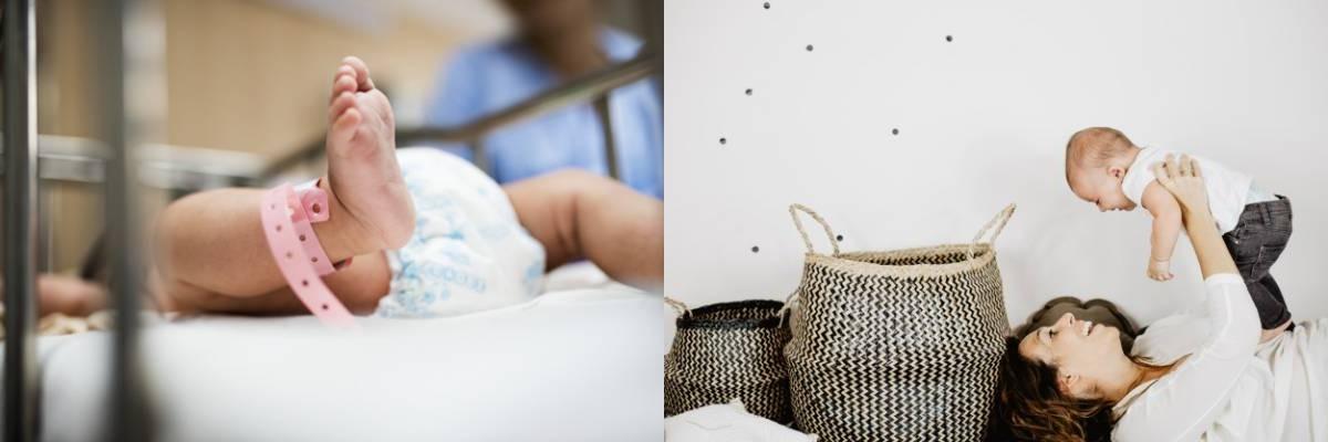 إصابات الولادة الطبيعية والقيصرية
