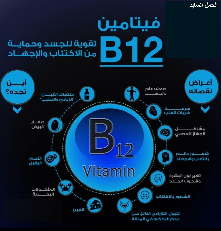فيتامين ب 12 - vitamin b12