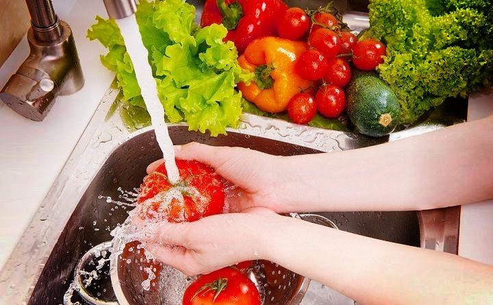 اعتني بنظافة الطعام من اجل حمل سليم وجنين صحي