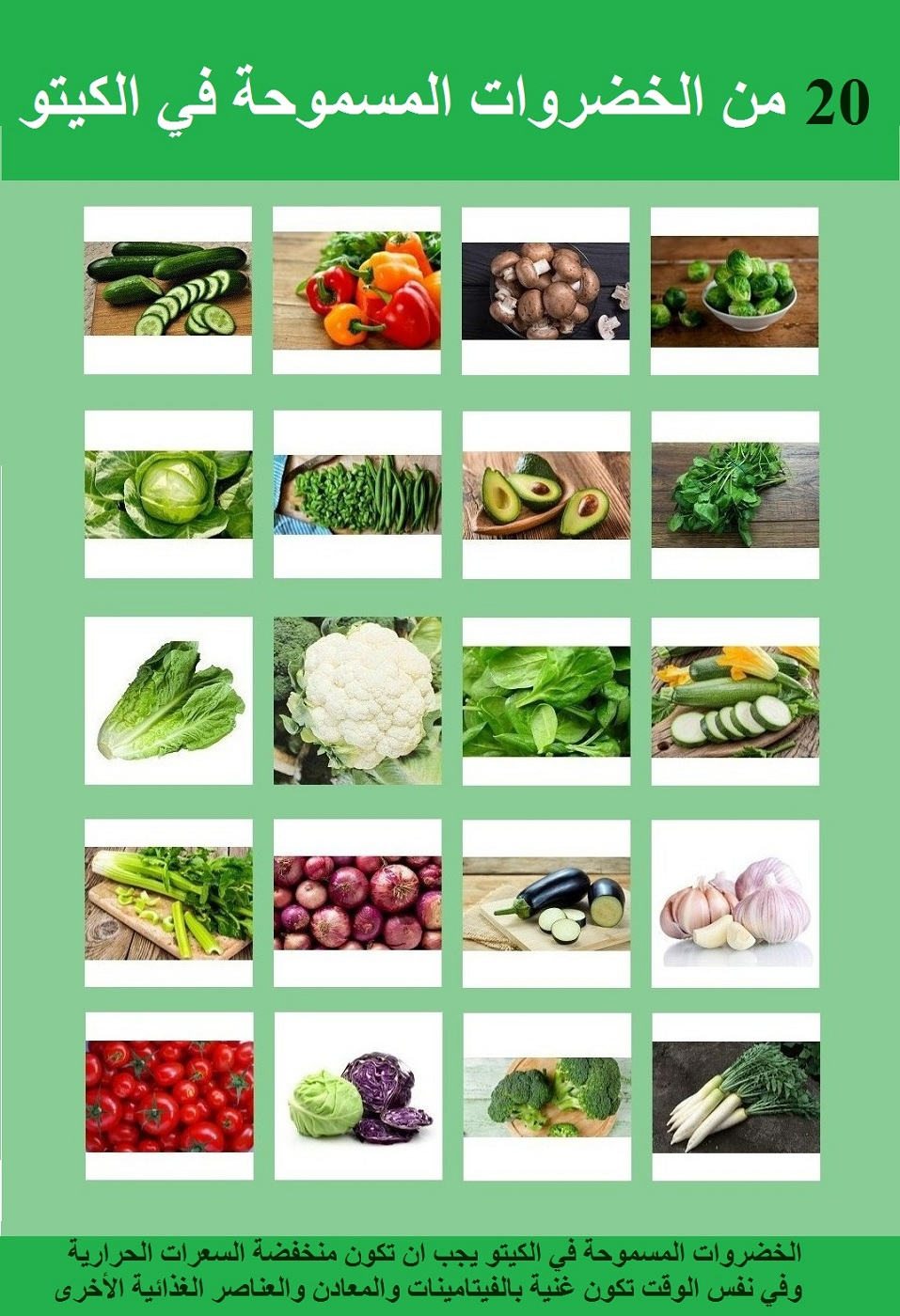 الخضروات المسموحة في الكيتو افضل 21 خضار للتخسيس الحمل انسايد