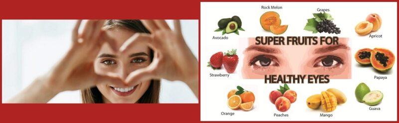 اطعمة تساعد على تقوية النظر وصحة العين