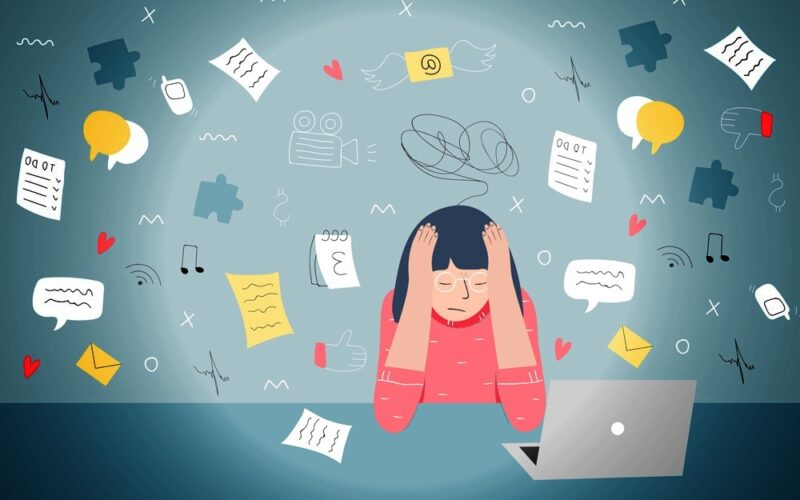 الضغوط النفسية والعصبية سبب تاخر الدورة بدون حمل