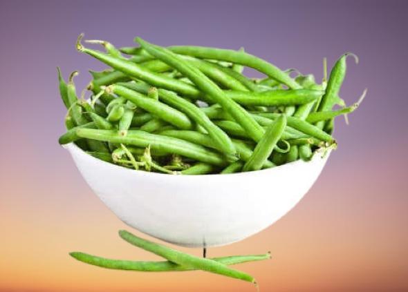 الفاصوليا الخضراء من الخضروات المسموحة في الكيتو