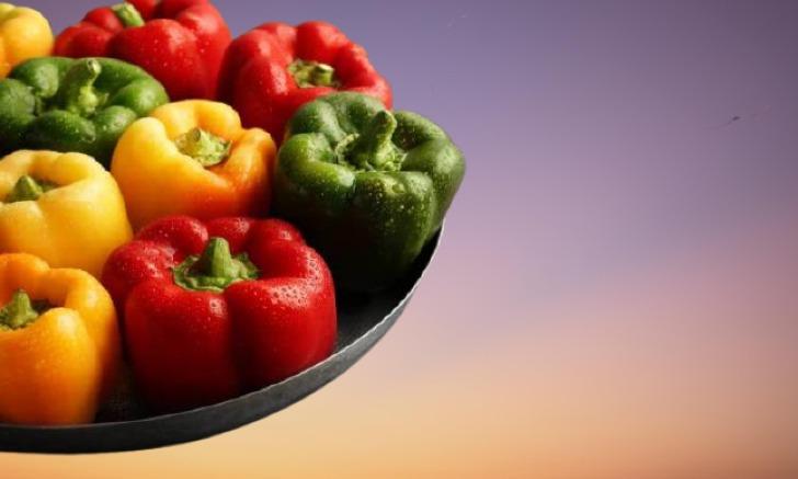 الفلفل الحلو من الخضروات المسموحة في الكيتو دايت