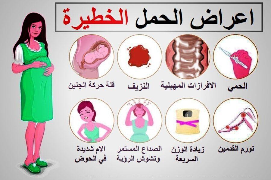 اعراض الحمل الخطيرة
