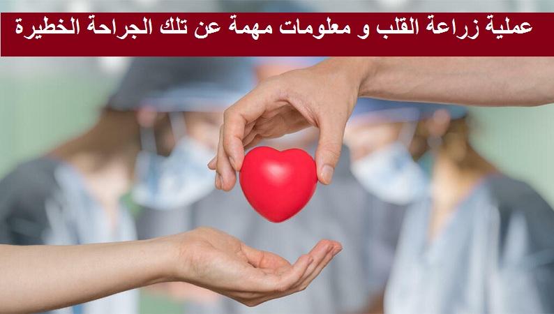 عملية زراعة القلب و معلومات مهمة عن تلك الجراحة الخطيرة