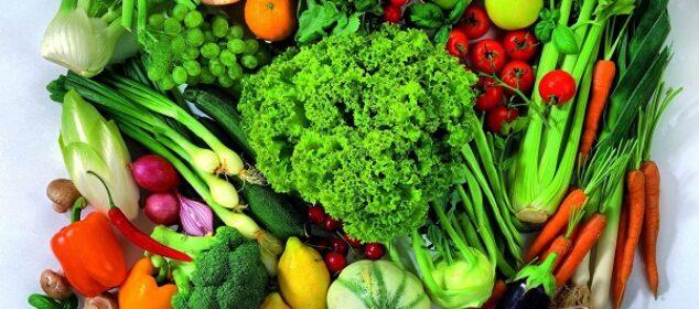 الفاكهة والخضروات